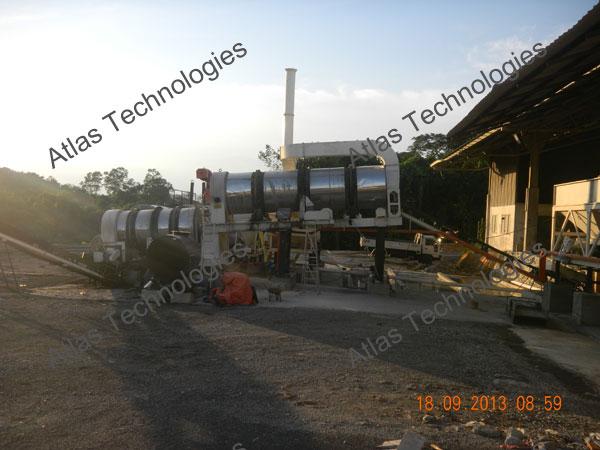 counterflow asphalt plant