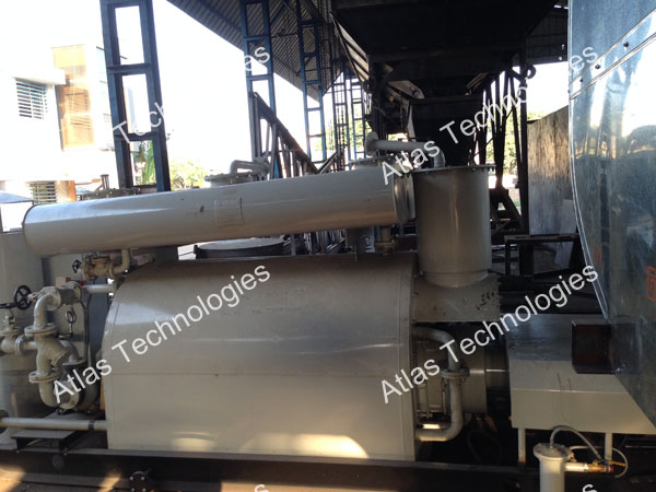 heater unit of Bitumen decanters