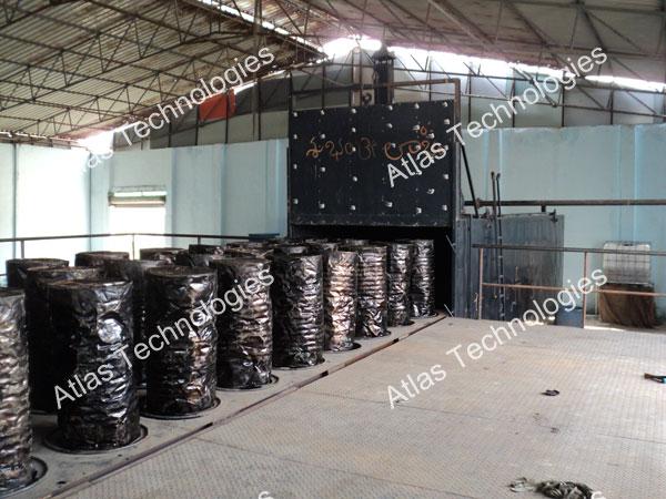 Bitumen drum heater