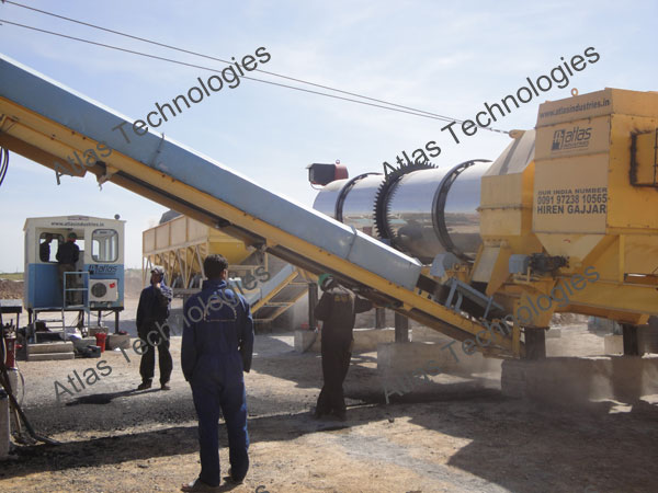asphalt mixing plant exporter India