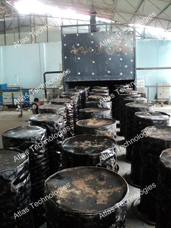 Bitumen drum decanters India