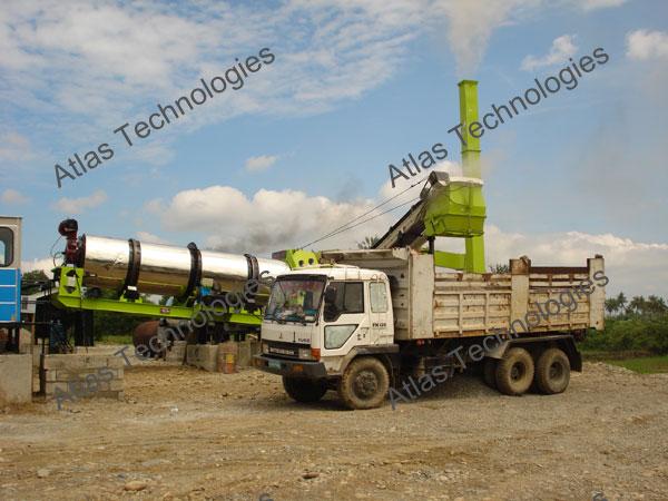 drying drum of asphalt plant equipment