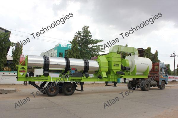 mobile asphalt mix plant exporter Gujarat