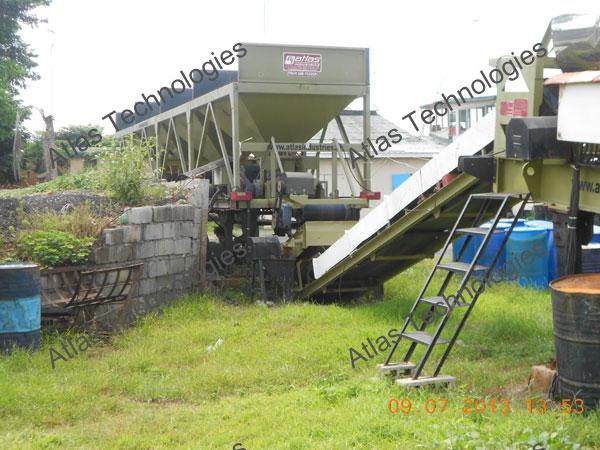mobile asphalt mix plant manufacturer India