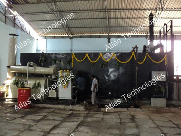 Drummed asphalt melting equipment India