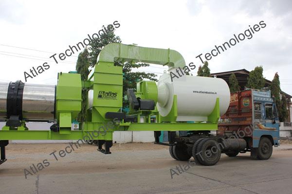 mobile asphalt mix plant manufacturer and exporter
