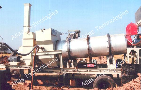 mobile asphalt mixer