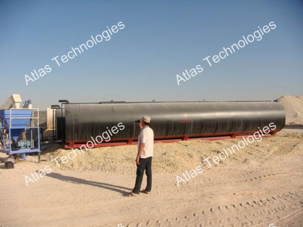 asphalt plant in Libya