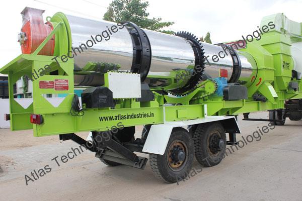 mobile asphalt mix plant supplier India