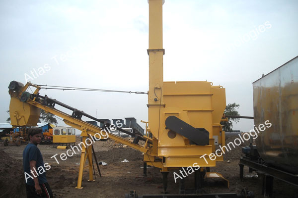 portable asphalt mixing plant manufacturer and exporter India