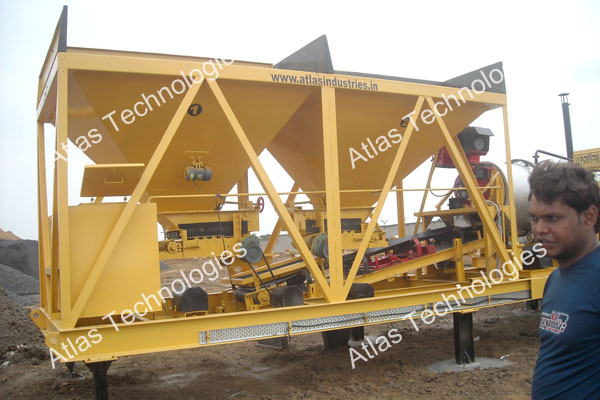 portable asphalt mixing plant supplier India