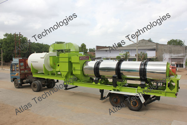 mobile asphalt mix plant exporter