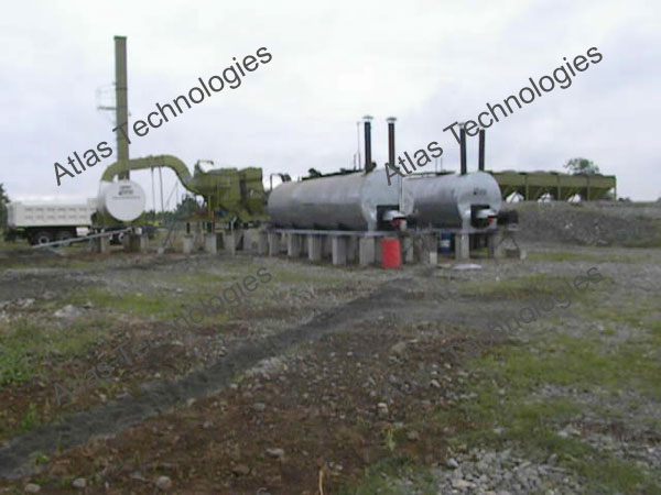 bitumen tanks of asphalt mix equipment