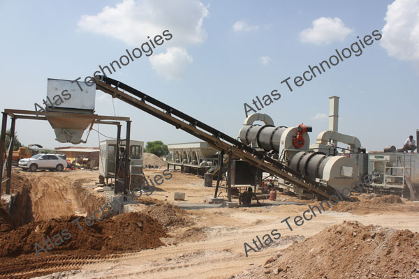 asphalt mixing plant exporter from Gujarat, India