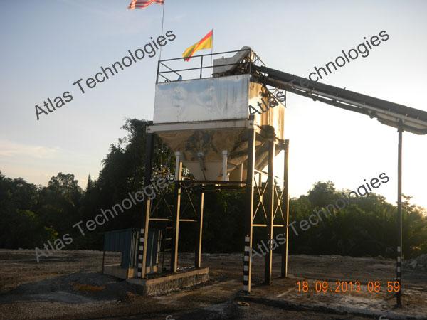 counter flow asphalt plant