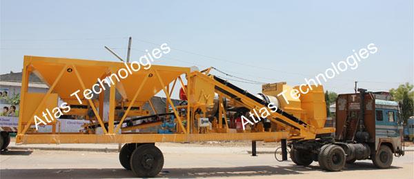 Portable asphalt plant: 20-30 tph