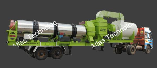 Mobile asphalt plant: 40 to 120 tph