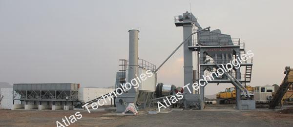 Asphalt mix plant (Containerized)