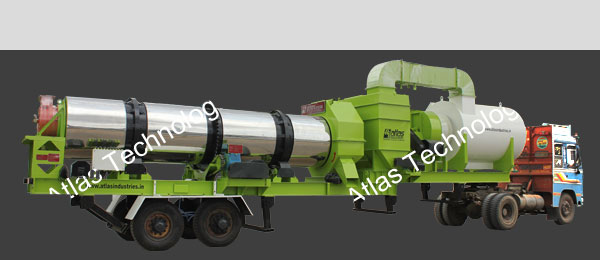 Mobile asphalt plant: 40 to 120 tph