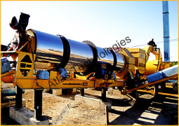 Semi mobile asphalt drum mix plant