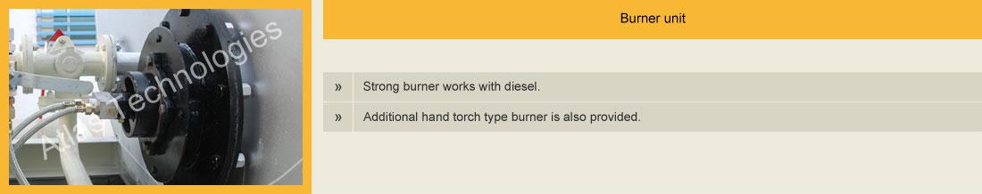 burner bitumen emulsion sprayer