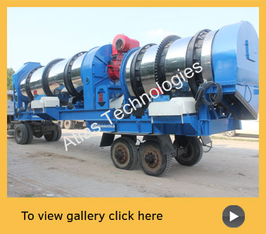 mobile counterflow drum mixer Ivory Coast