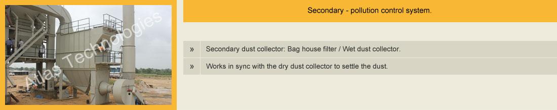 bag filter asphalt plant