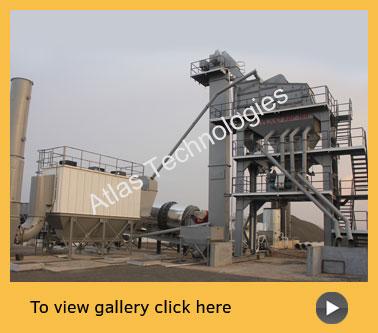 Tower asphalt plant installed in Nashik